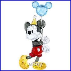 Swarovski Mickey Mouse Celebration # 5376416 New 2018 in Original Box
