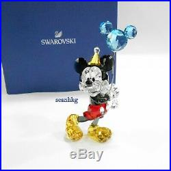Swarovski Mickey Mouse Celebration, Disney Crystal Authentic MIB 5376416