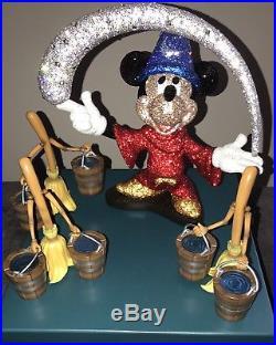 Swarovski Mickey Mouse Sorcerer Limited Edition Myriad Disney Fantasia /150 LE