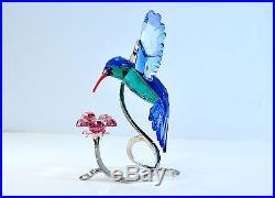 Swarovski Paradise Hummingbird Flower Bird Playful Joy 1188779 Brand New in Box