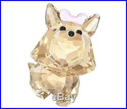 Swarovski Puppy Dixie The Yorkshire Terrier, Dog Crystal Figurine MIB 5063332