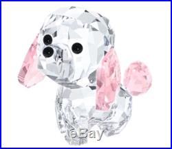Swarovski Puppy Rosie The Poodle, Dog Crystal Figurine Authentic 5063331