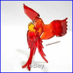 Swarovski Red Parrots Birds LOVE/TOGETHERNESS Crystal Authentic MIB 5136809
