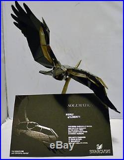 Swarovski Retired Soulmate Wings of Liberty Eagle 1186037