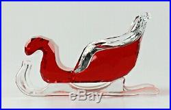 Swarovski SANTA'S SLEIGH Color Crystal Christmas Figurine 5223691 NEW w Gift Box