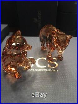 Swarovski SCS Bear Cubs 2017 Crystal Brand new in box 5236593