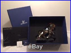 Swarovski SCS Crystal Lion Golden Shadow Soulmate 1092104
