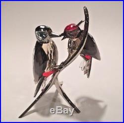 Swarovski SCS Crystal Woodpeckers Black Diamond 957562 A 9600 NR 000 124