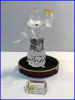 Swarovski SCS Masquerade Trilogy 1999-2001 MINT withBoxes Stands Plaques Papers