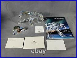 Swarovski SIKU POLAR BEAR 2011 Limited Edition SCS Crystal FIGURINE 1053154 +Box