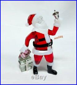 Swarovski Santa Claus, Christmas Bell Present, Crystal Authentic MIB 5003052