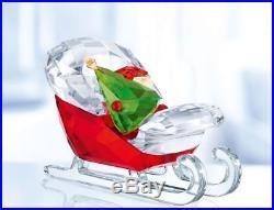 Swarovski Santa's Sleigh, Christmas tree, Crystal Authentic MIB 5403203