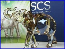 Swarovski Scs Cinta Elephant 2013 Mib #1137207