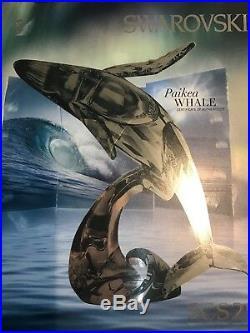 Swarovski Scs Humpback Whale, Paikea 2012 Mib #1095228