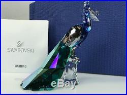 Swarovski Scs Peacock Limited Ed. 2015 Mib #1142861