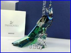 Swarovski Scs Peacock Limited Ed. 2015 Mib #1145553 Signed