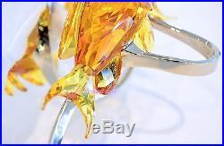 Swarovski Sea Goldies Topaz Colorful Fishes SIGNED 1083778 Brand New In Box