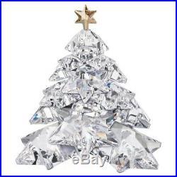 Swarovski Shining Star Christmas Tree 1139998 Retired Bnib Coa