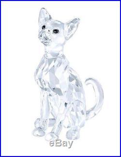 Swarovski Siamese Cat, Clear Crystal Authentic 5135918
