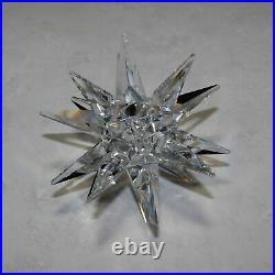 Swarovski Silver Crystal Christmas Star Burst Candle Holder 5064295