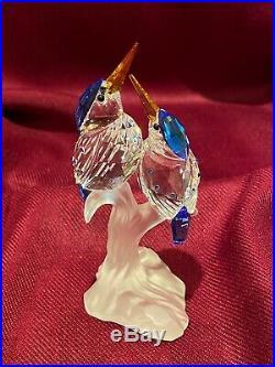 Swarovski Silver Crystal Malchite Kingfishers A 7621 NR 000 010 New