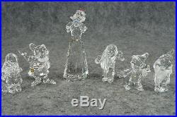 Swarovski Snow White and 5 of the Dwarfs Crystal Figurines