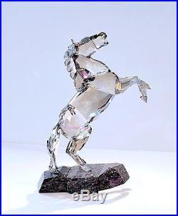 Swarovski Soulmate Stallion Satin Large Horse 1074793 Brand New In Box