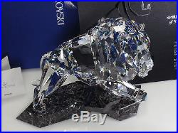 Swarovski Soulmates Lion Clear Crystal Figurine 5103232 NIB $1,099