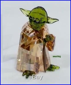 Swarovski Star Wars Master Yoda, Crystal Authentic MIB 5393456