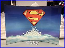 Swarovski Superman Crystal Display