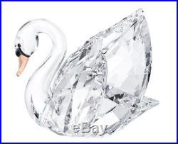 Swarovski Swan, Medium, Clear Crystal Body Figurine For Collectors MIB 5004724