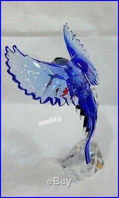 Swarovski Taiwan Blue Magpie, Bird Crystal Authentic MIB 5428653