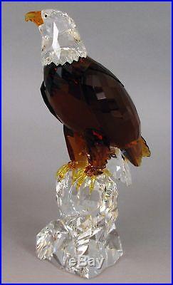 Swarovski The Bald Eagle Huge Stunning Crystal Limited Edition Bird Figurine USA