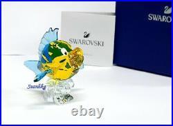 Swarovski The Little Mermaid Flounder Disney Tropical Fish Crystal MIB 5552917