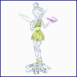 Swarovski Tinker Bell Crystal Disney Figure New In Box
