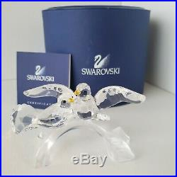 Swarovski Turtle Doves Retired (7621 NR 000 011) withOriginal Boxes & COA