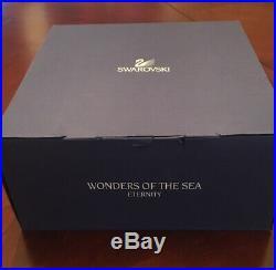 Swarovski Wonders of The Sea Eternity Sea Turtle Scene LARGE
