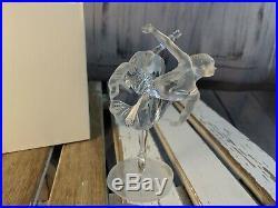 Swarovski crystal figurine ballerina dancing standing dancer girl women retired