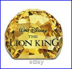 Swarovski crystal figurines The Lion King
