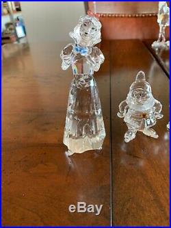 Swarovski crystal figurines disney Snow White