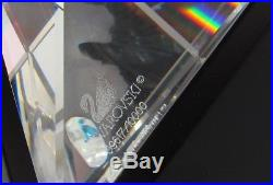Swavorski Crystal 1998 Limited Edition The Peacock in Box with COA