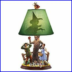 The Bradford Exchange The Wizard of OZ Dorothy and Scarecrow Lamp