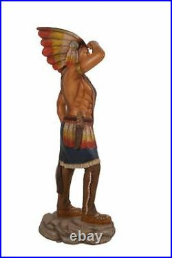 Tobacco Indian Cigar Store Statue Life Size 6FT Cigar Man Statue