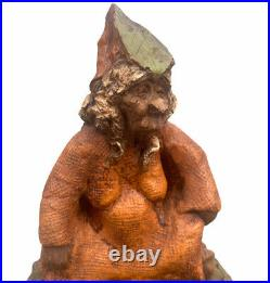 Tom Clark Gnome IVY No Edition Number Signed Extremely Rare Early Piece