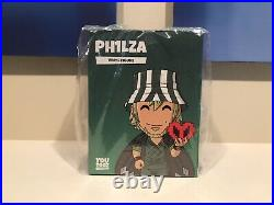 Unopened Ph1lza Philza Youtooz Figure Dream SMP Code Unscratched In Hand