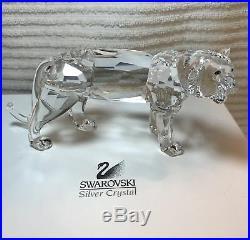 Vintage SWAROVSKI Crystal Figurine TIGER Rare