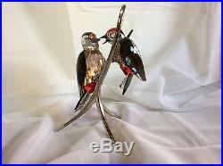 Woodpeckers Black Diamond Swarovski #957562